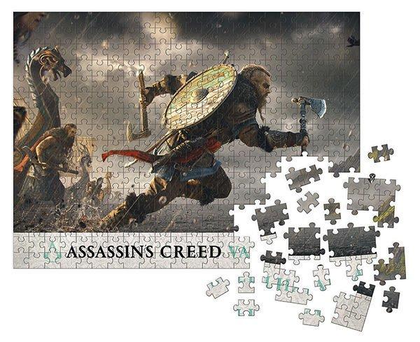 Photo du produit ASSASSIN'S CREED VALHALLA PUZZLE FORTRESS ASSAULT (1000 PIÈCES)