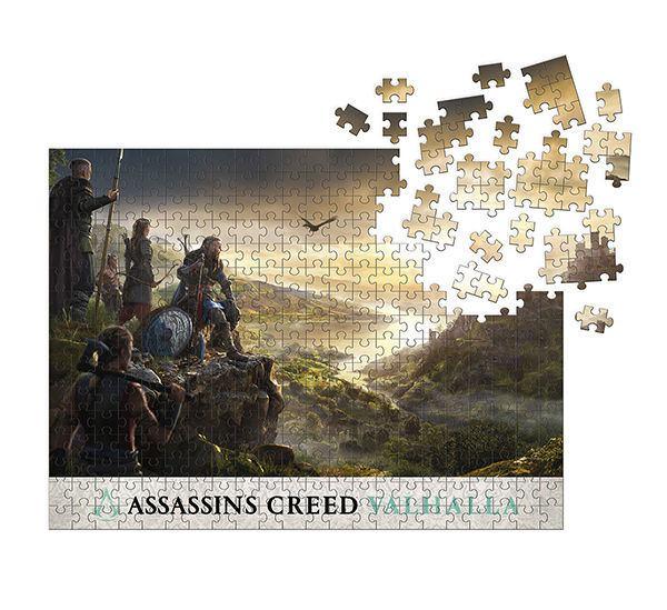 Photo du produit ASSASSIN'S CREED VALHALLA PUZZLE RAID PLANNING (1000 PIÈCES)