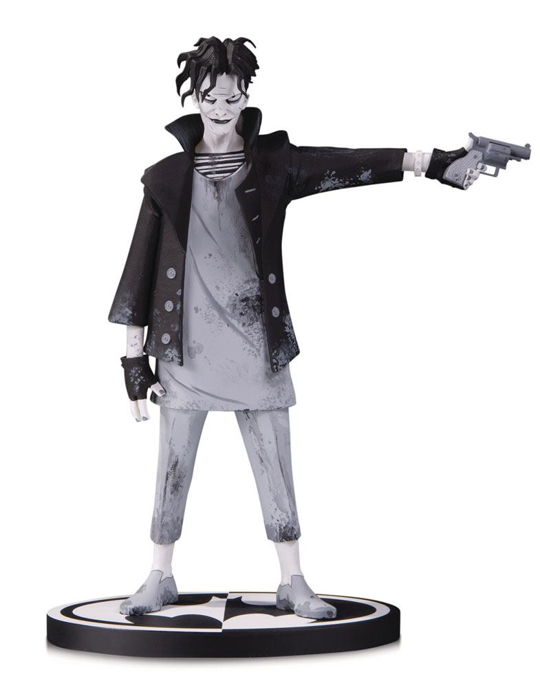 Photo du produit BATMAN BLACK & WHITE STATUETTE THE JOKER BY GERARD WAY 19 CM