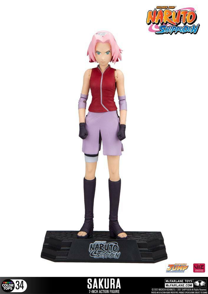 Photo du produit NARUTO SHIPPUDEN FIGURINE COLOR TOPS SAKURA 18 CM