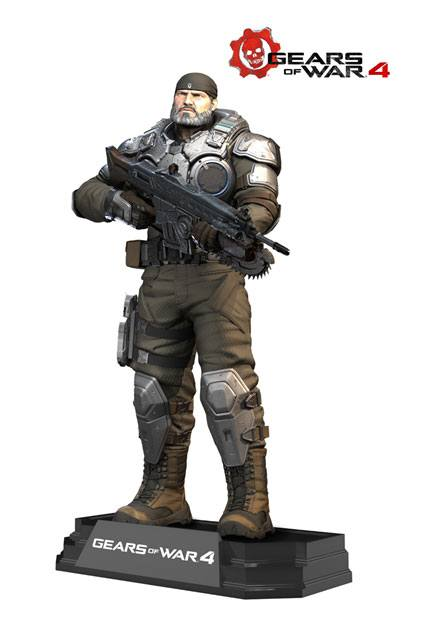 Photo du produit GEARS OF WAR 4 FIGURINE COLOR TOPS MARCUS FENIX 18 CM