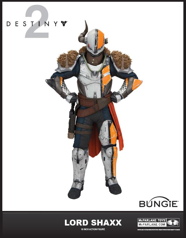 Photo du produit DESTINY 2 FIGURINE DELUXE LORD SHAXX 25 CM