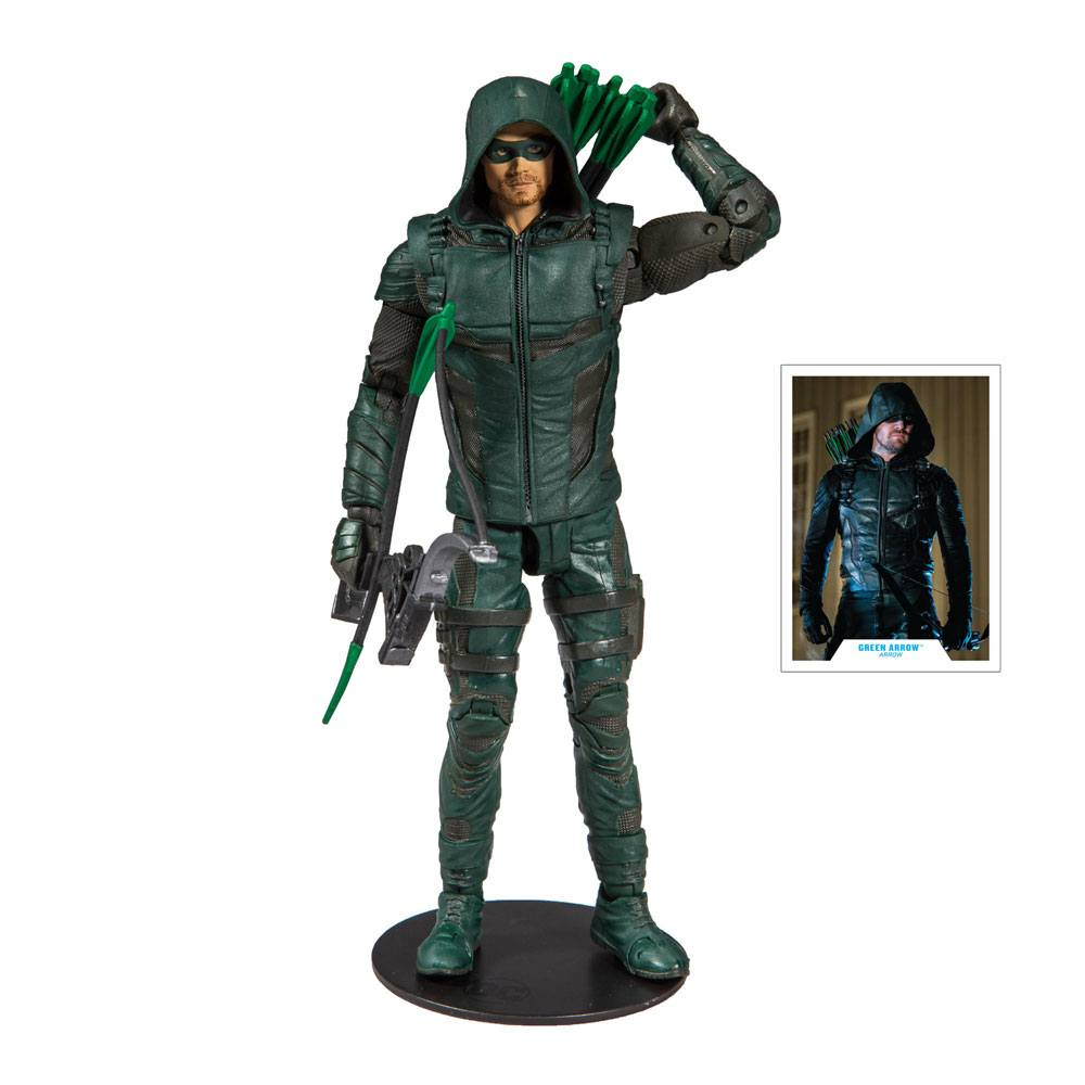 Photo du produit ARROW FIGURINE GREEN ARROW 18 CM
