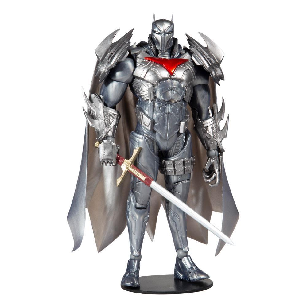 Photo du produit DC Multiverse figurine Azrael Batman Armor (Batman Curse of the White Knight) Gold Label 18 cm