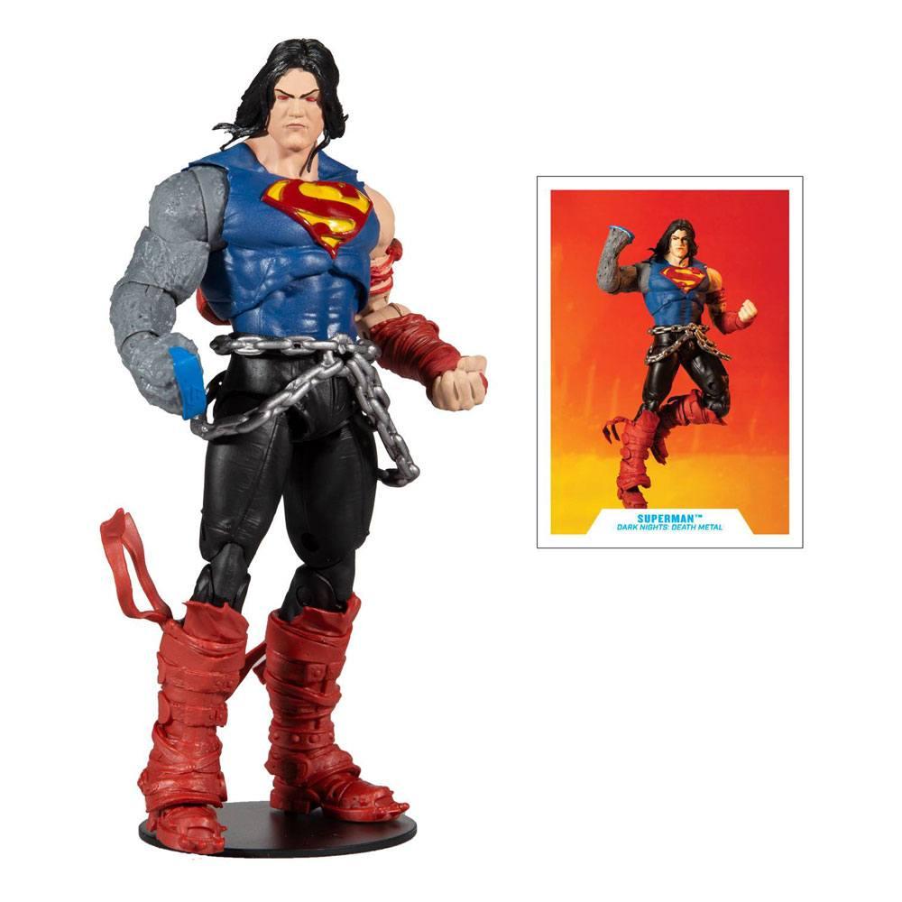 Photo du produit DC Multiverse figurine Build A Superman 18 cm