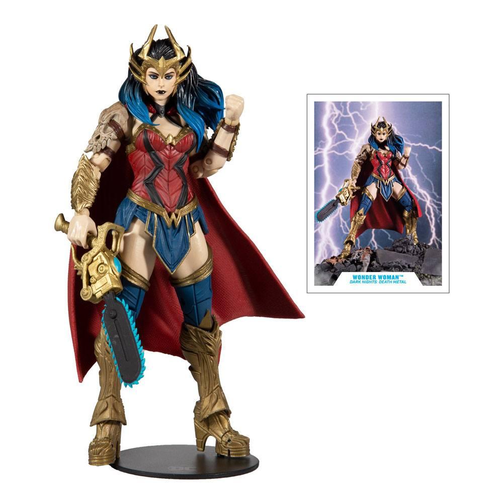 Photo du produit DC Multiverse figurine Build A Wonder Woman 18 cm