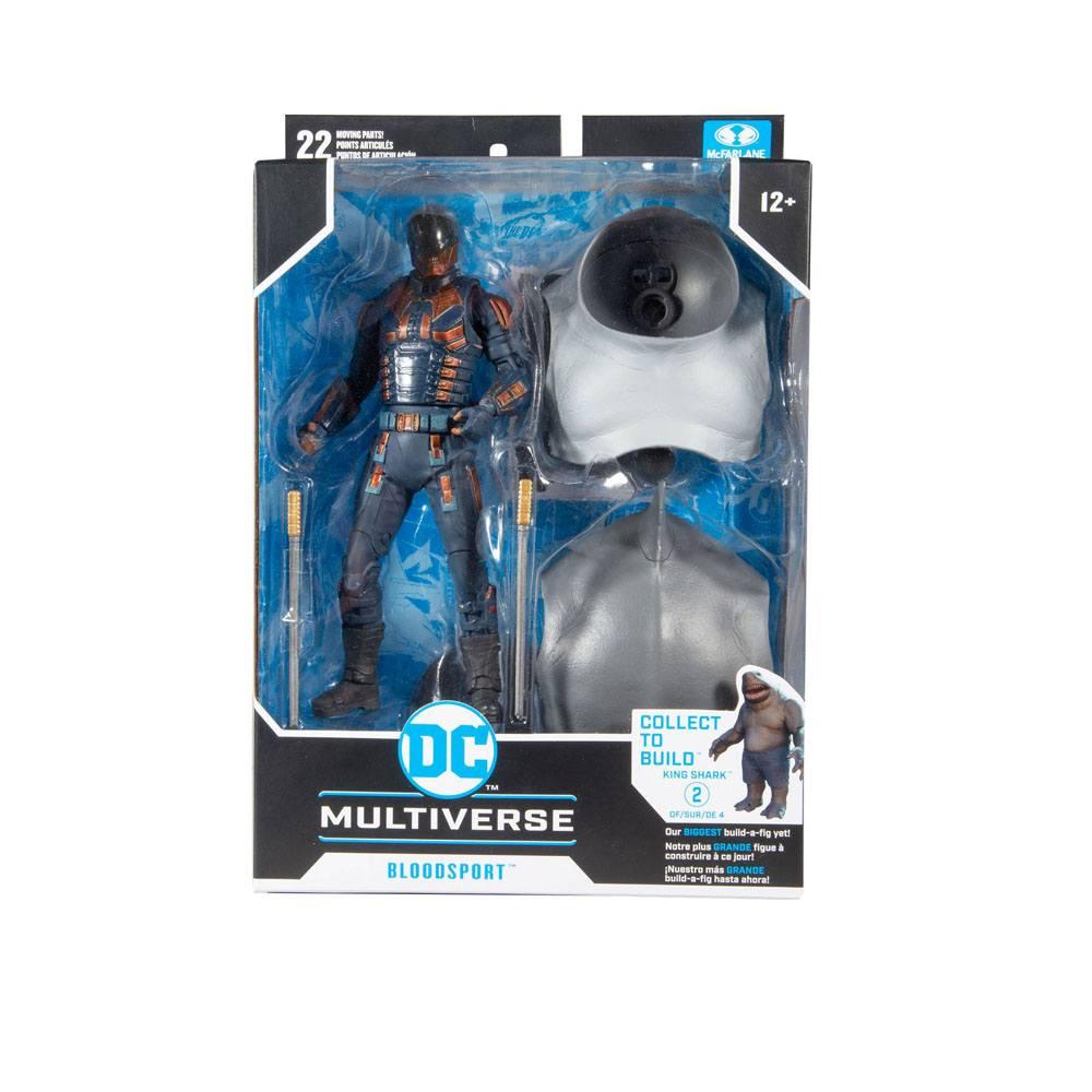 Photo du produit DC Multiverse figurine Build A Bloodsport 18 cm
