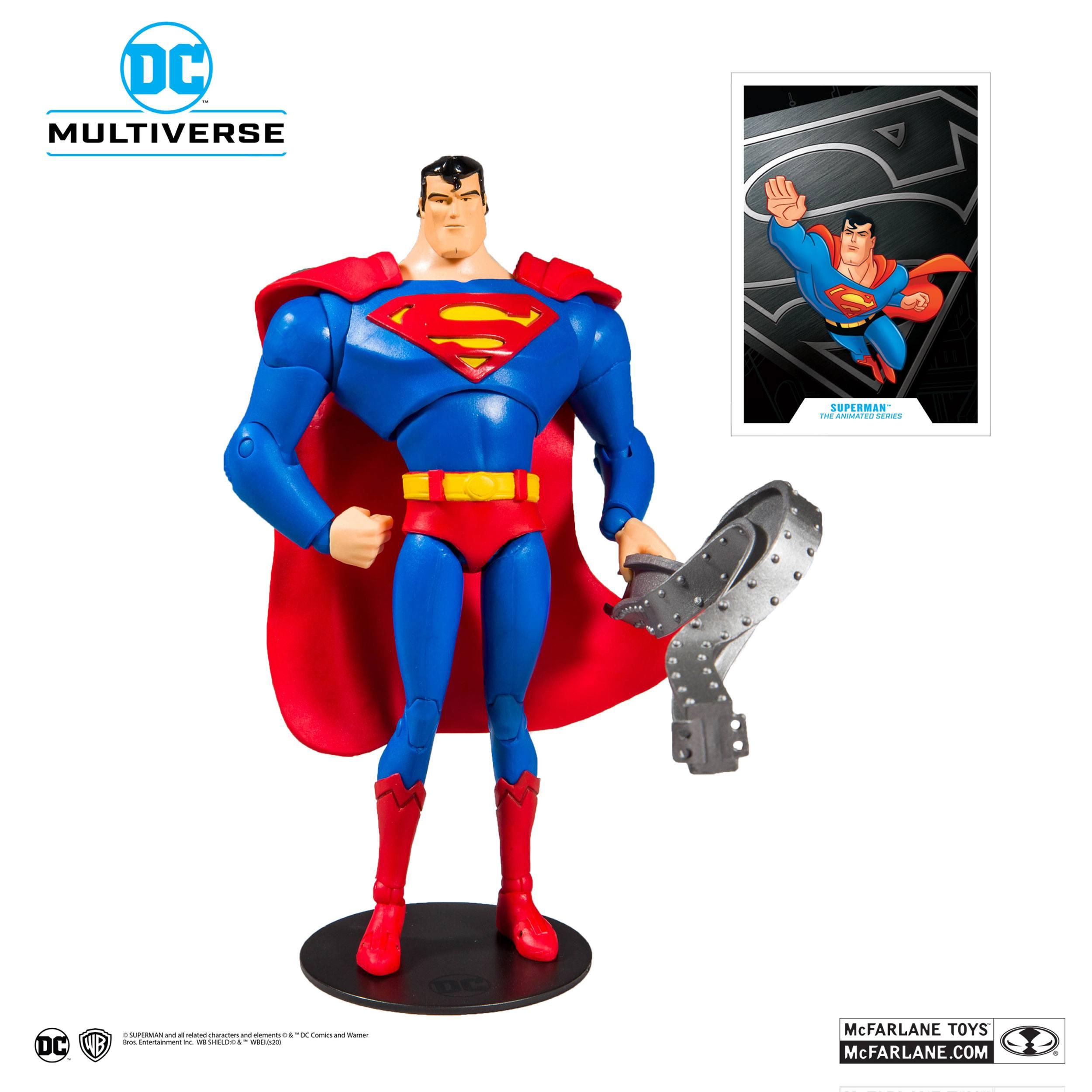 Photo du produit BATMAN  THE ANIMATED SERIES FIGURINE SUPERMAN 18 CM
