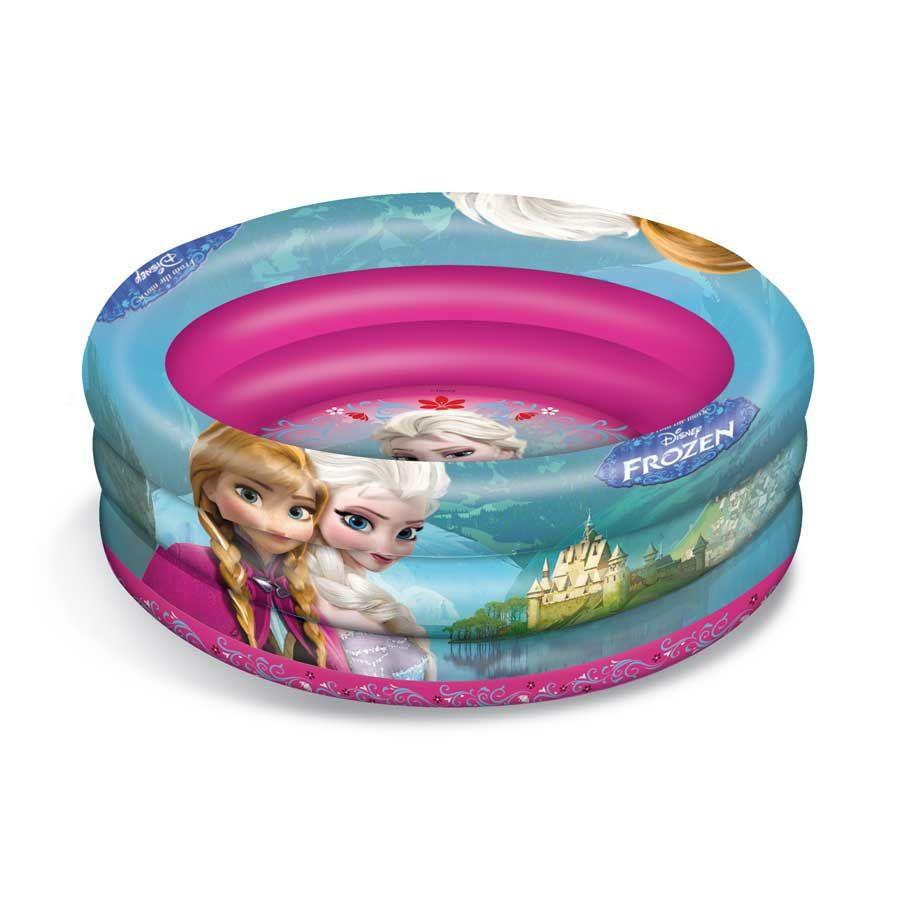 Piscine gonflable la reine des neiges for Bebe dans piscine