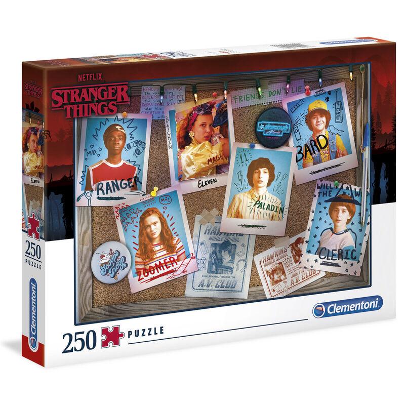 Photo du produit Puzzle Stranger Things 250 pièces