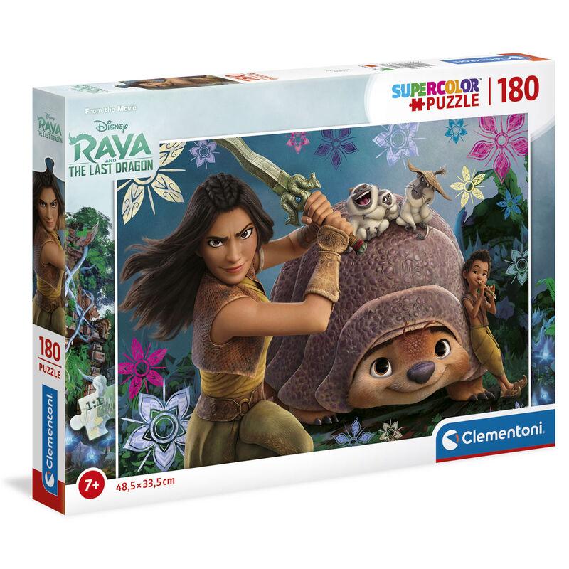 Photo du produit Puzzle Raya et le dernier Dragon Disney 180 pièces