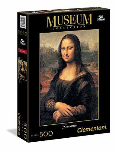 Photo du produit Puzzle Mona Lisa Leonard de Vinci Museum Collection 500 pièces