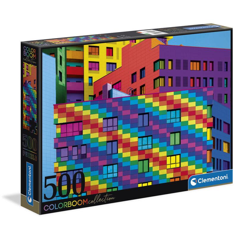 Photo du produit PUZZLE CUBES 500 PIECES