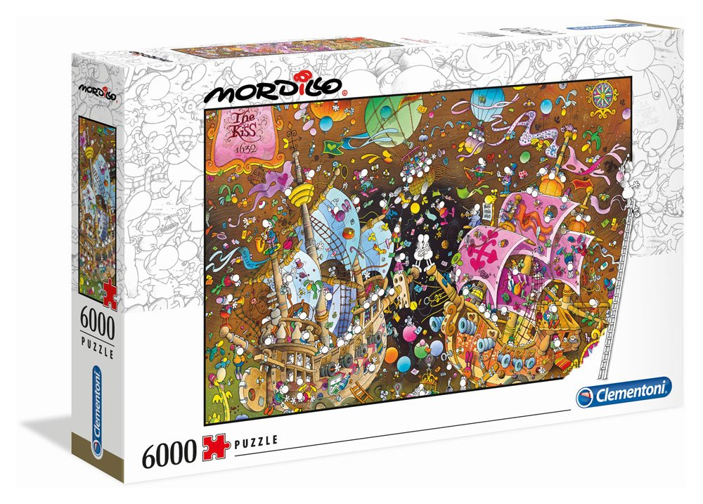 Photo du produit MORDILLO PUZZLE LE BAISER 6000 PIECES