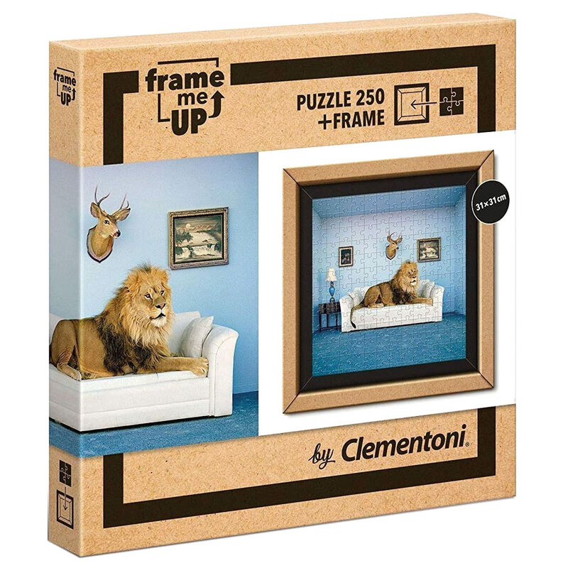 Photo du produit PUZZLE THE MASTER OF THE HOUSE FRAME ME UP 250 PIÈCES