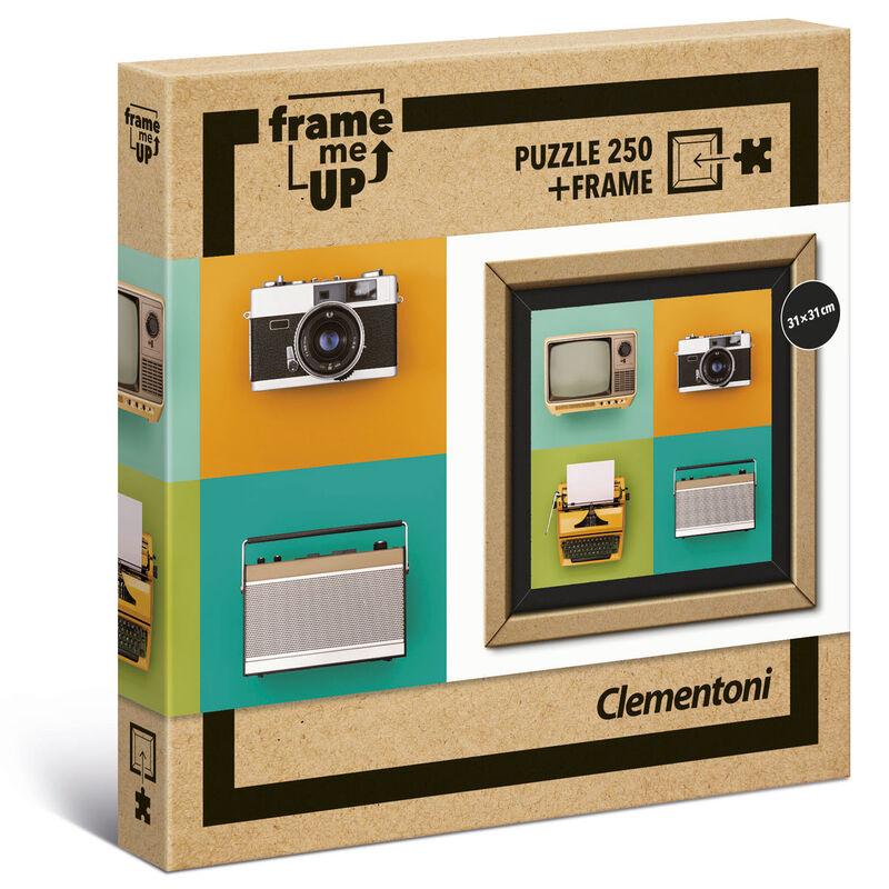 Photo du produit PUZZLE VINTAGE ELECTRONICS FRAME ME UP 250 PIÈCES