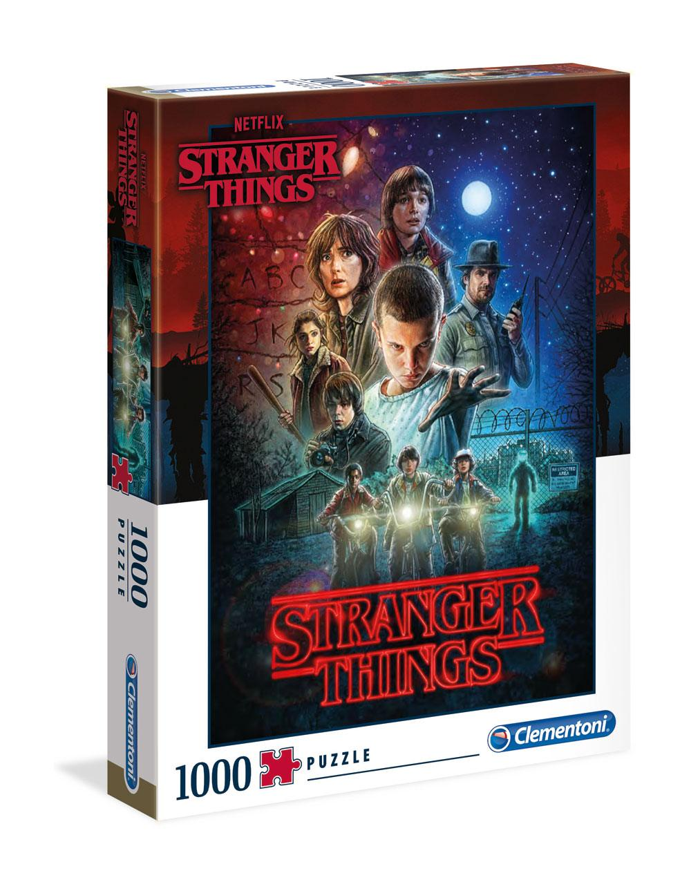 Photo du produit STRANGER THINGS PUZZLE SEASON 1 - 1000 PIECES