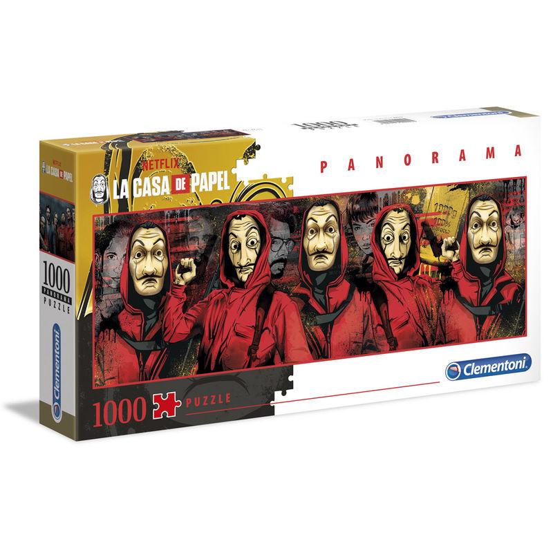 Photo du produit PUZZLE PANORAMA LA CASA DE PAPEL 1000 PIÈCES