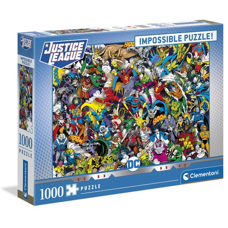 Photo du produit Puzzle Imposible DC Comics 1000 pièces
