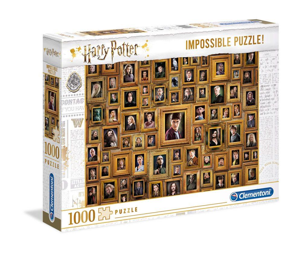 Photo du produit HARRY POTTER PUZZLE IMPOSSIBLE PORTRAITS
