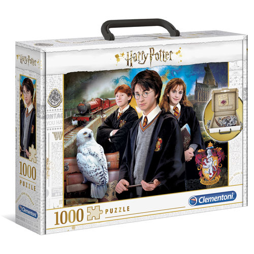 Photo du produit MALETTE PUZZLE HARRY POTTER 1000 PIÈCES