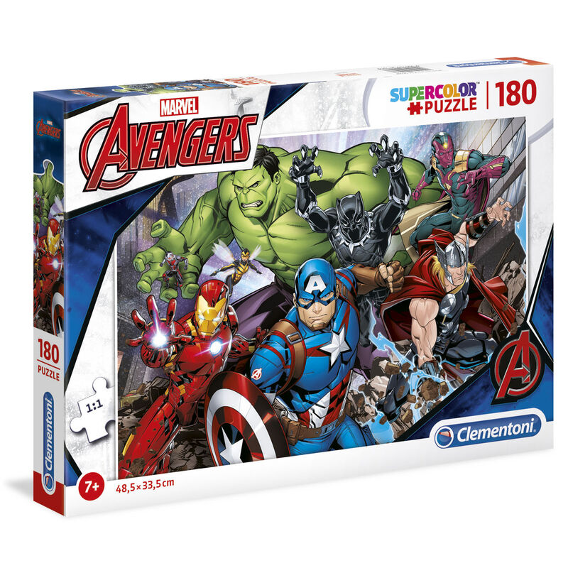 Photo du produit PUZZLE MARVEL AVENGERS 180 PIECES