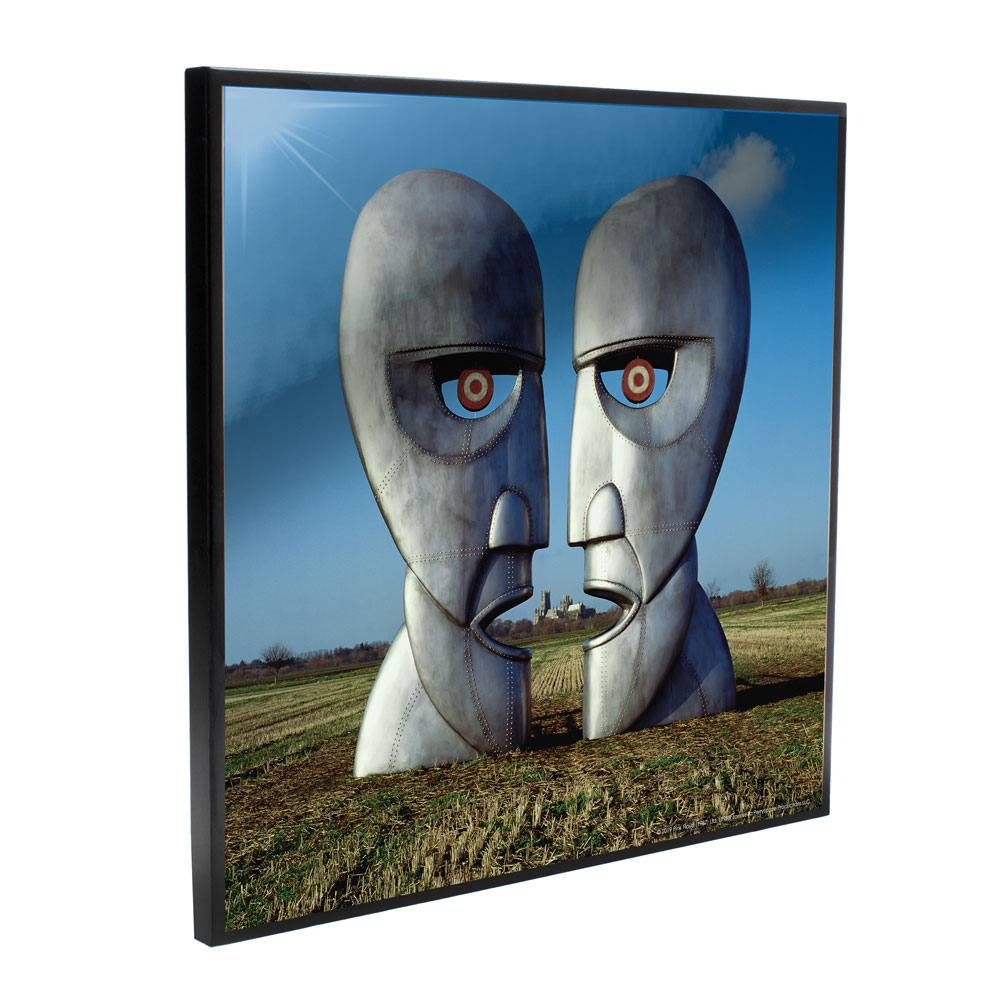 Photo du produit PINK FLOYD DÉCORATION MURALE CRYSTAL CLEAR PICTURE THE DIVISION BELL 32 X 32 CM