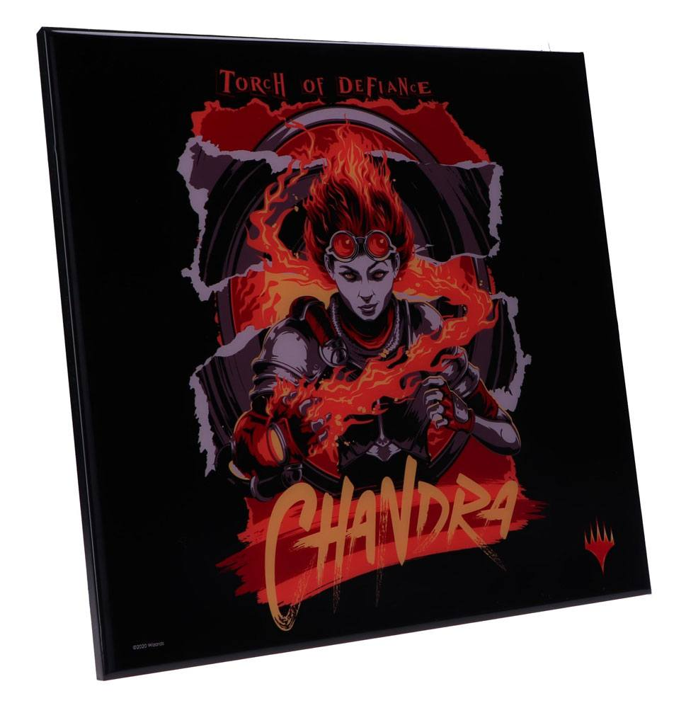 Photo du produit DÉCORATION MURALE MAGIC THE GATHERING CRYSTAL CLEAR PICTURE CHANDRA 32 X 32 CM