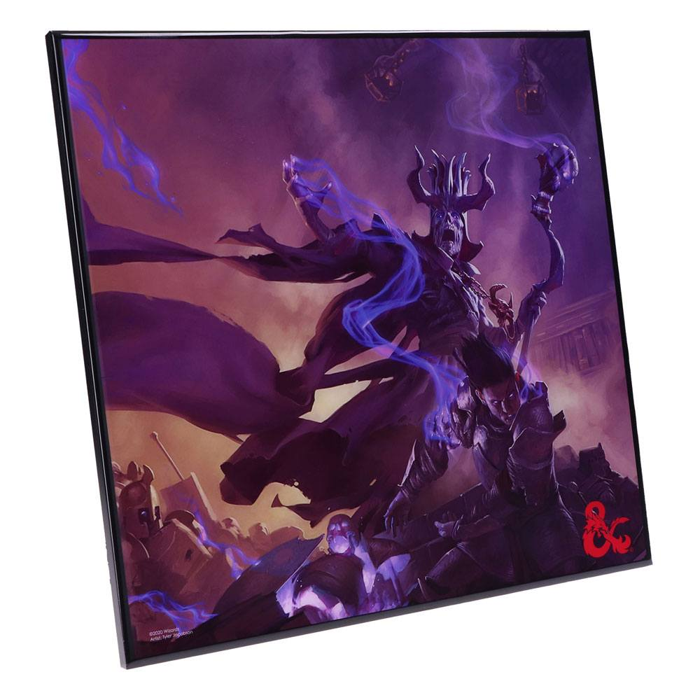 Photo du produit DUNGEONS & DRAGONS DÉCORATION MURALE CRYSTAL CLEAR PICTURE DUNGEON MASTERS GUIDE 32 X 32 CM