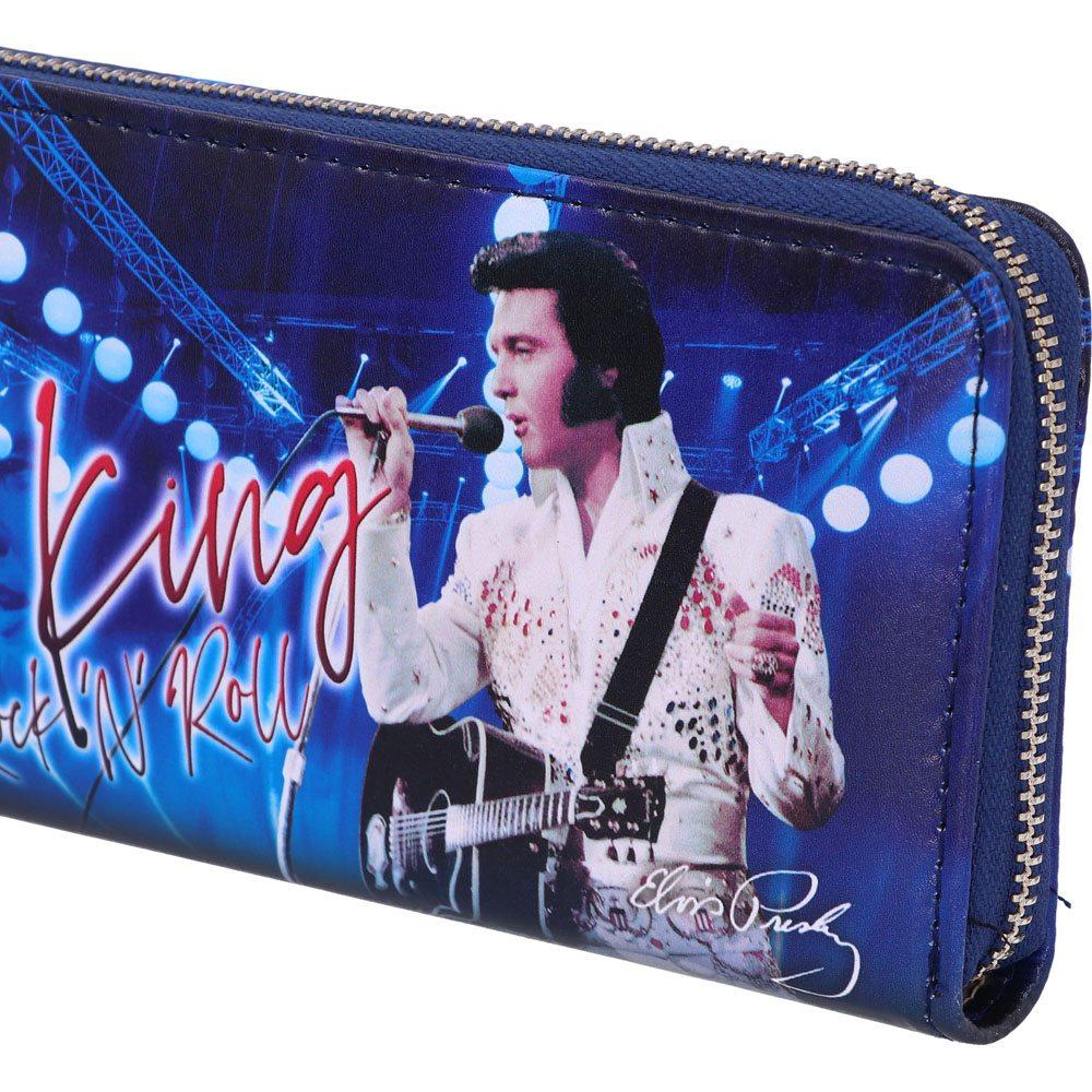Photo du produit Elvis Presley porte-monnaie The King of Rock and Roll 19 cm