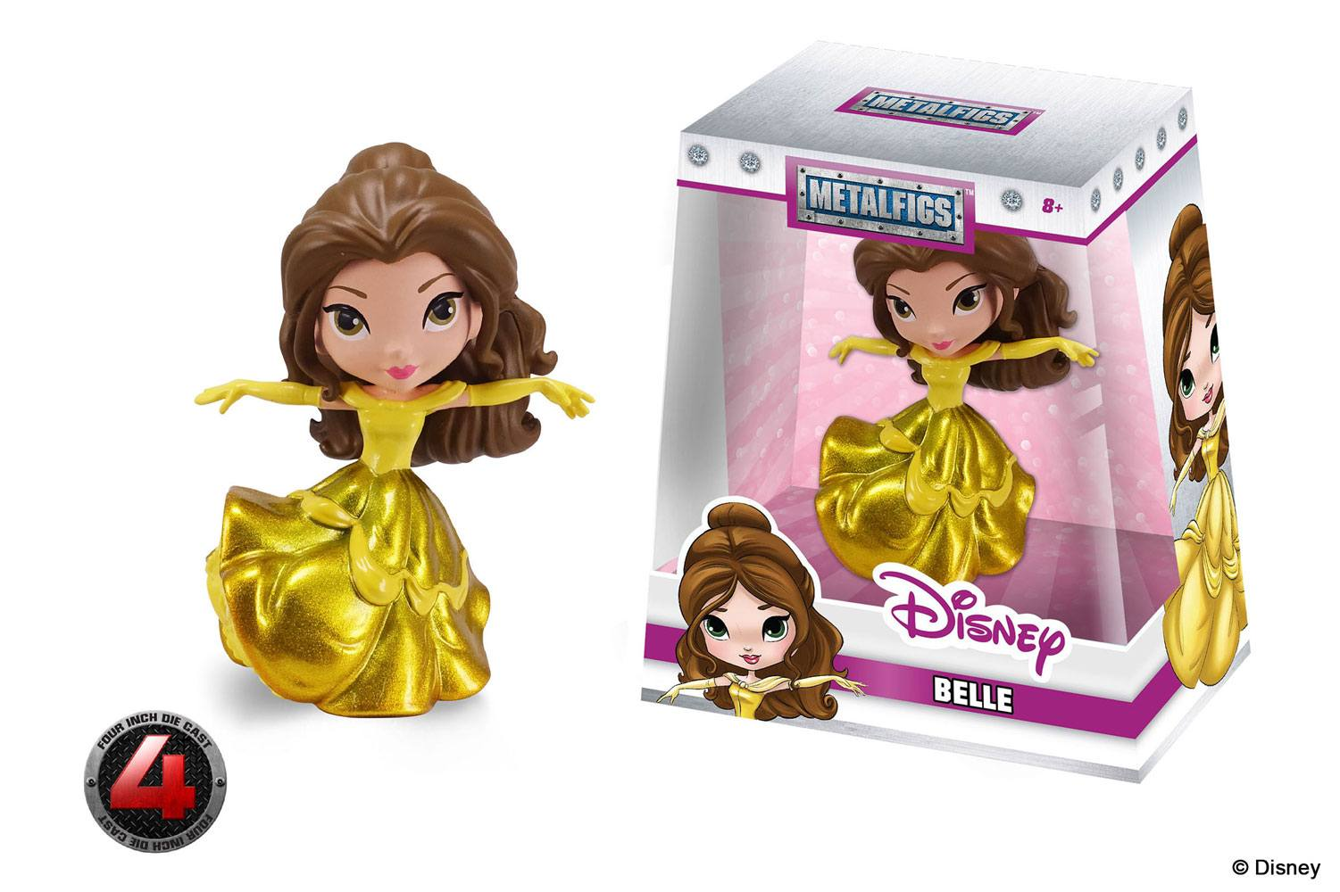 Photo du produit DISNEY METALFIGS FIGURINE DIECAST BELLE 10 CM