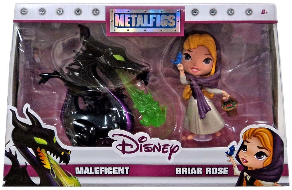 Photo du produit DISNEY PACK 2 METALFIGS FIGURINES DIECAST MALEFICENT & BRIAR ROSE 10 CM