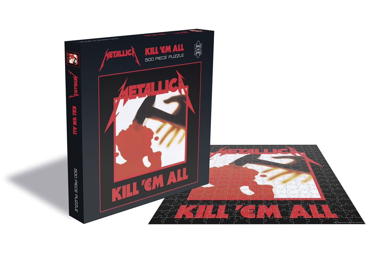 Photo du produit METALLICA PUZZLE KILL 'EM ALL 500 PIECES