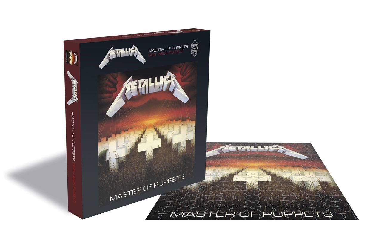 Photo du produit METALLICA PUZZLE MASTER OF PUPPETS