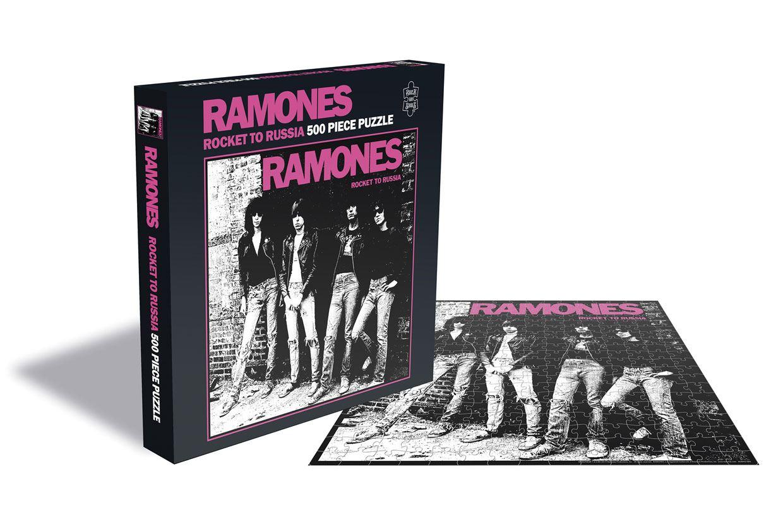 Photo du produit Ramones Puzzle Rocket to Russia