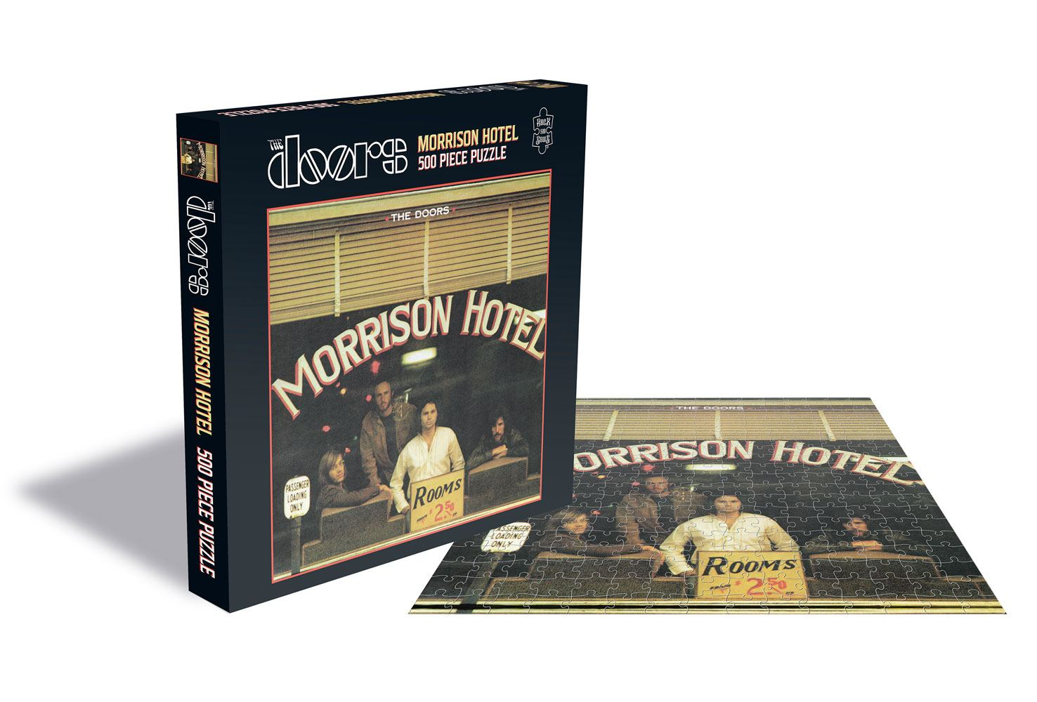 Photo du produit PUZZLE THE DOORS MORRISON HOTEL 500 PIECES