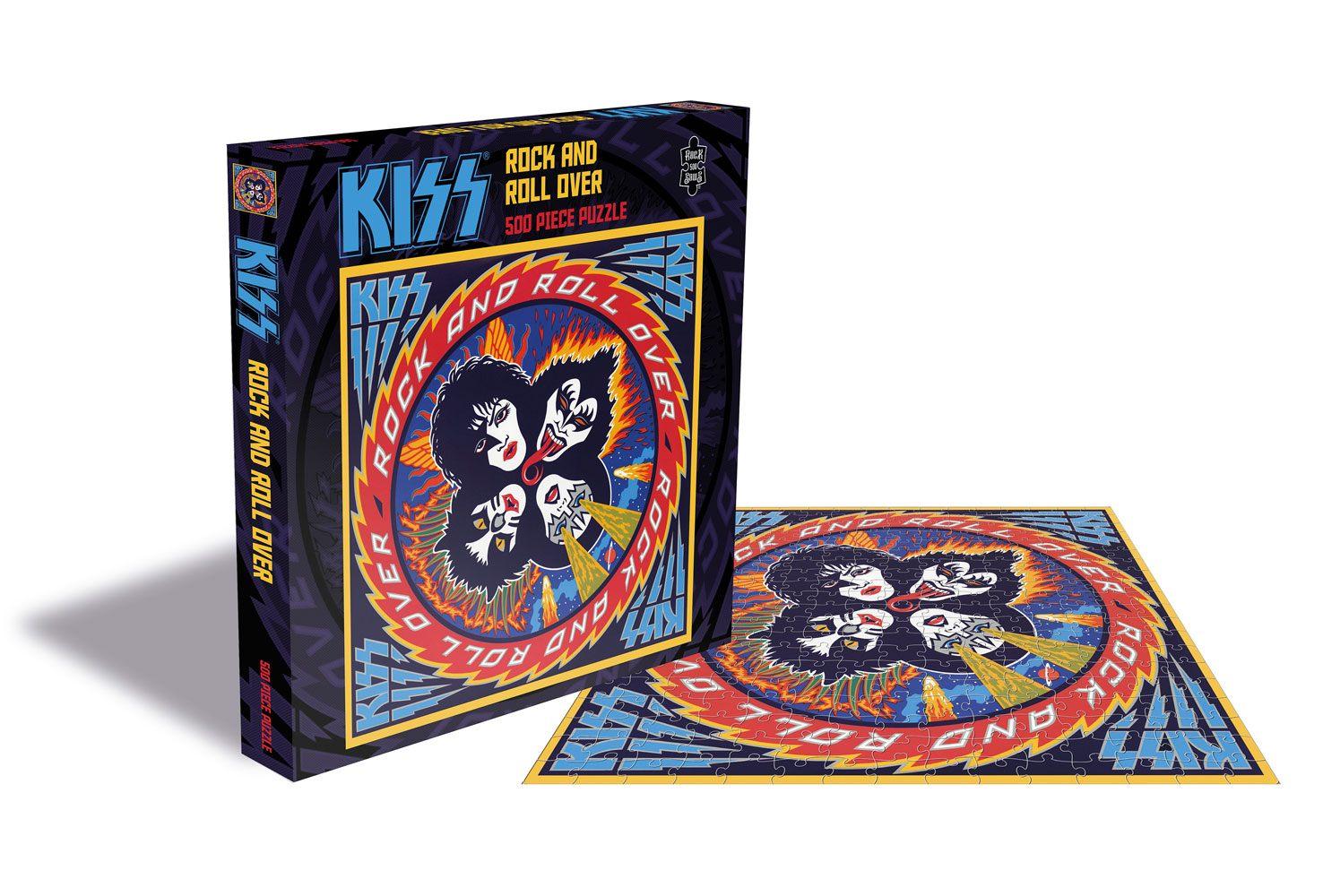 Photo du produit KISS PUZZLE ROCK AND ROLL OVER / 500 PIÈCES