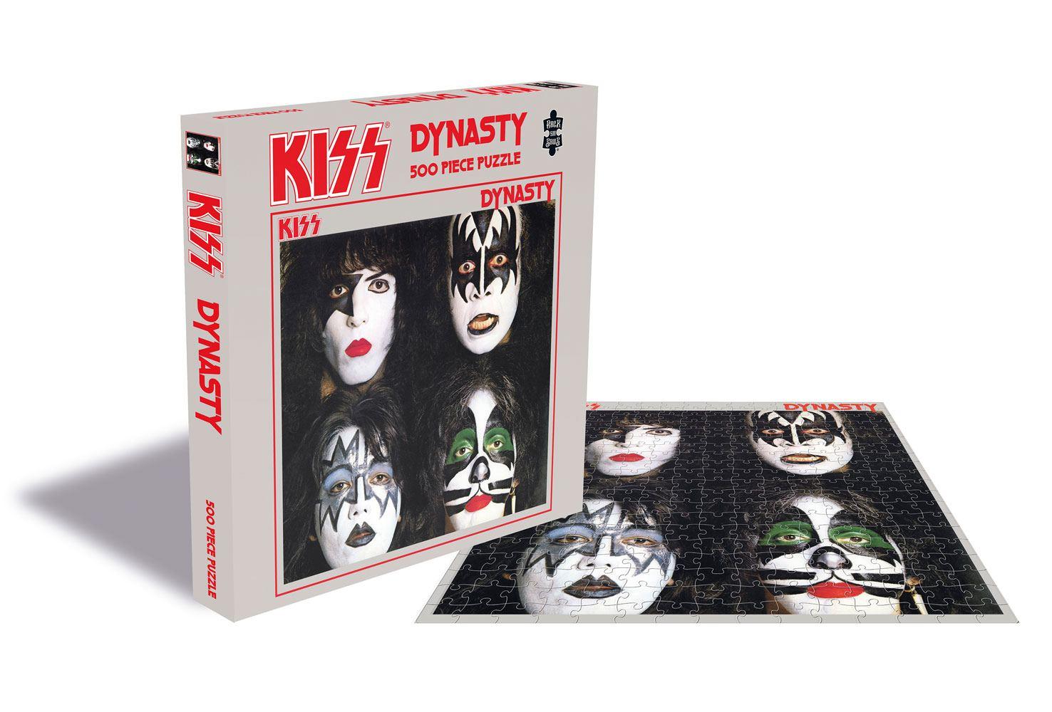 Photo du produit KISS PUZZLE DYNASTY (500 PIÈCES)