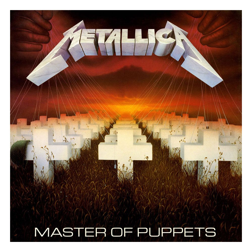 Photo du produit METALLICA ROCK SAWS PUZZLE MASTER OF PUPPETS (1000 PIÈCES)