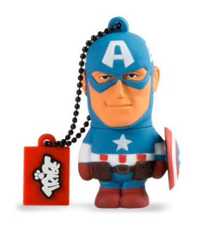 Photo du produit MARVEL COMICS CLE USB CAPTAIN AMERICA 16 GO