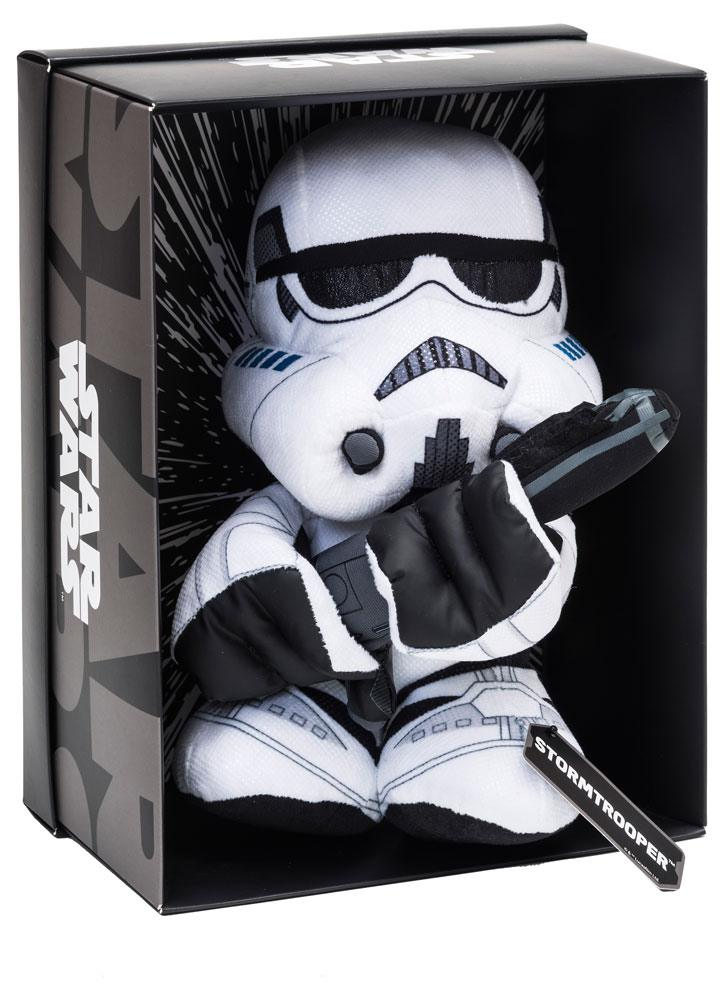 Photo du produit STAR WARS PELUCHE BLACK LINE STORMTROOPER 25 CM