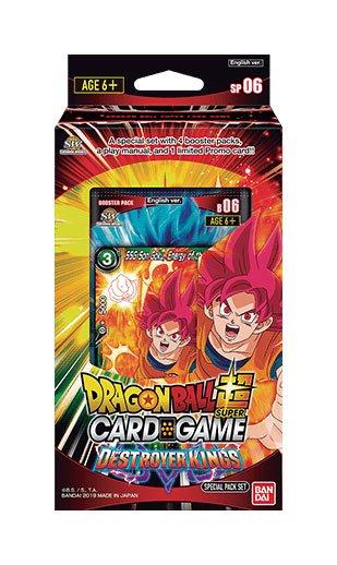 Photo du produit DRAGON BALL SUPER CARD GAME SEASON 6 SPECIAL PACK DESTROYER KINGS