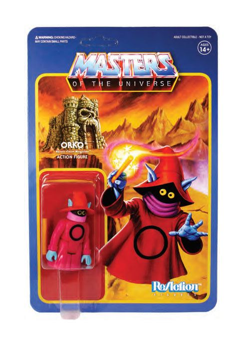 Photo du produit MASTERS OF THE UNIVERSE WAVE 4 FIGURINE REACTION ORKO