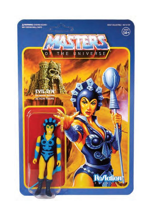 Photo du produit MASTERS OF THE UNIVERSE WAVE 4 FIGURINE REACTION EVIL-LYN