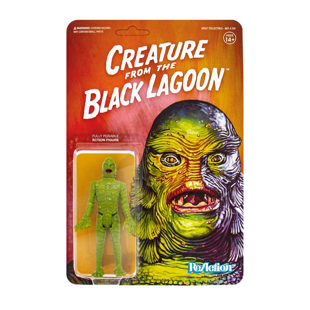 Photo du produit UNIVERSAL MONSTERS FIGURINE REACTION CREATURE FROM THE BLACK LAGOON 10 CM