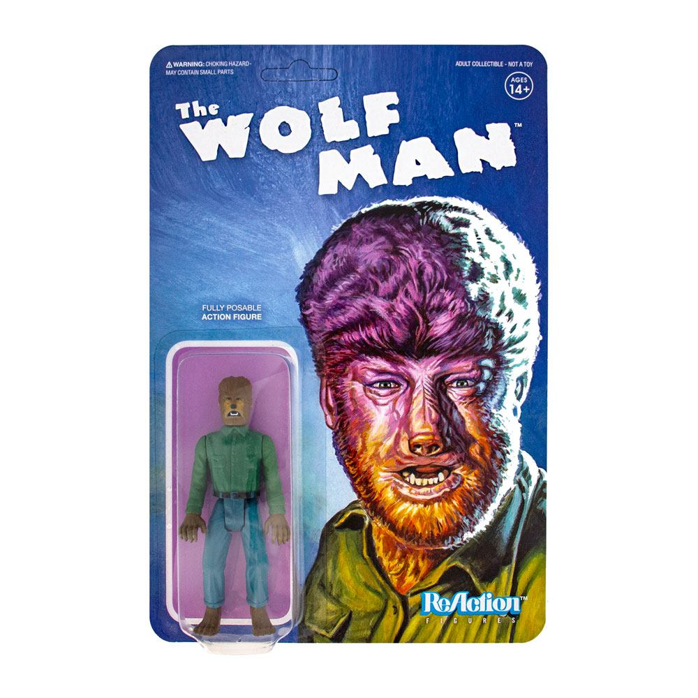 Photo du produit UNIVERSAL MONSTERS FIGURINE REACTION THE WOLF MAN