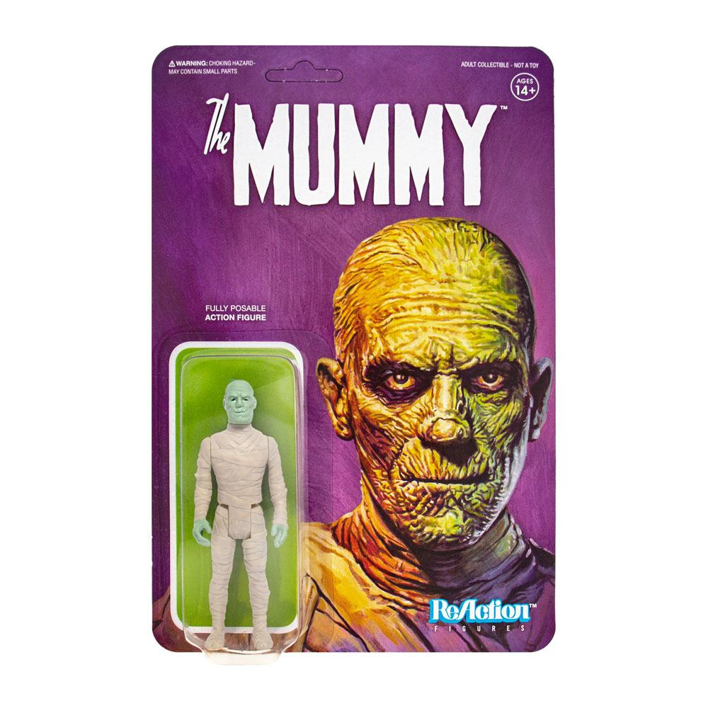 Photo du produit UNIVERSAL MONSTERS FIGURINE REACTION THE MUMMY