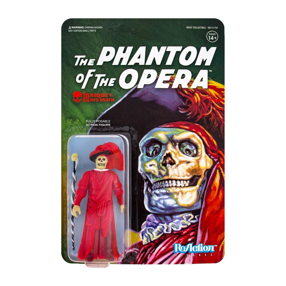 Photo du produit UNIVERSAL MONSTERS FIGURINE REACTION THE MASQUE OF THE RED DEATH