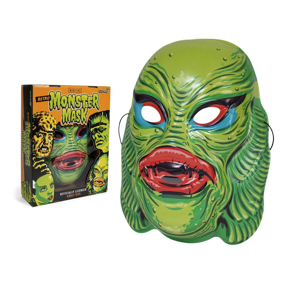 Photo du produit UNIVERSAL MONSTERS MASQUE CREATURE FROM THE BLACK LAGOON (GREEN)