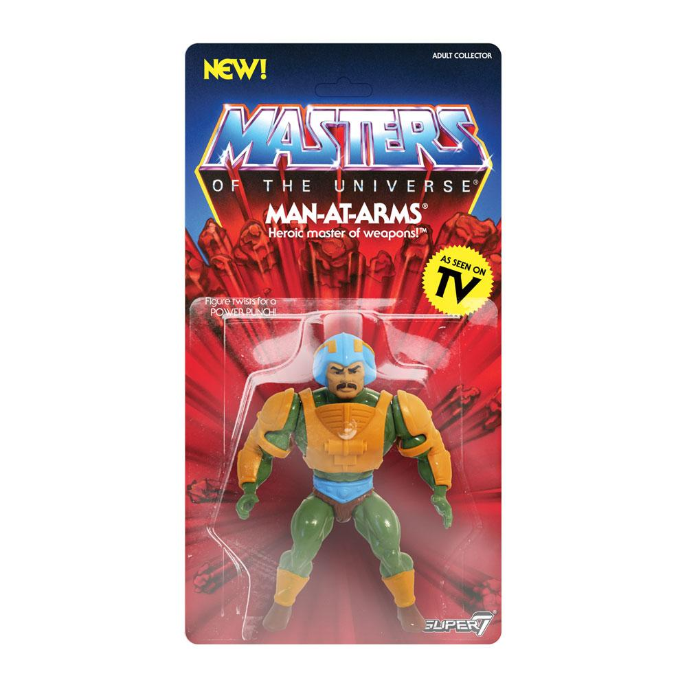 Photo du produit MASTERS OF THE UNIVERSE SÉRIE 2 FIGURINE VINTAGE COLLECTION MAN-AT-ARMS 14 CM